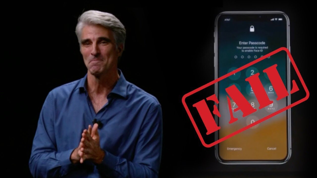 iPhone X, another Apple Fail