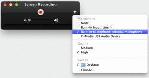 Recording Settings